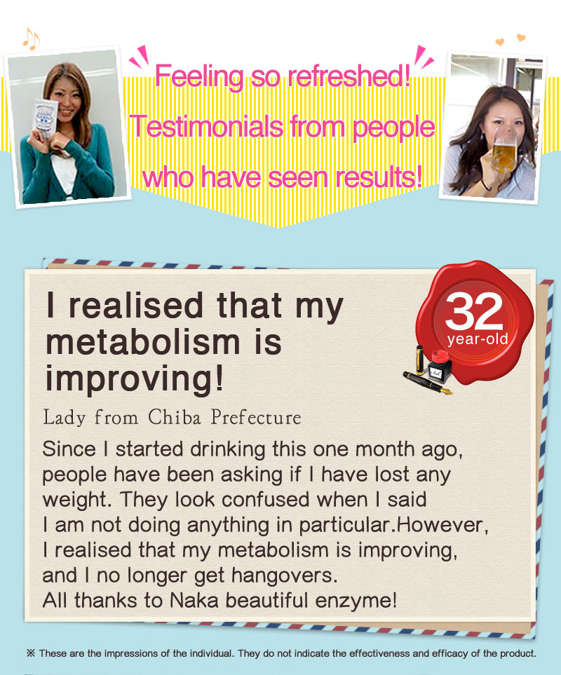 Feeling so refreshed! Testimonials from people who have seen results! 1